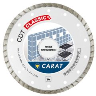 Diamantblad beton / Natuursteen CDTC Classic 8 mm Ø 180 mm