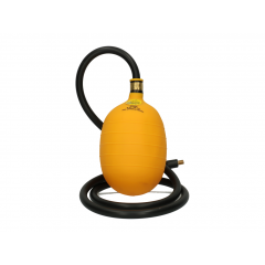 Rioolafsluiter bal incl. 1,35 m slang en ventiel