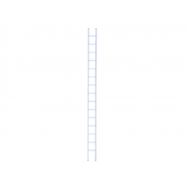 Rioolladder alu 15 sport rechte voet 400 cm