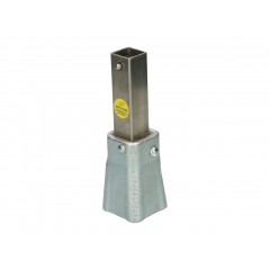 Koppelmof vierkant 27 mm type H voor hydrantsleutel