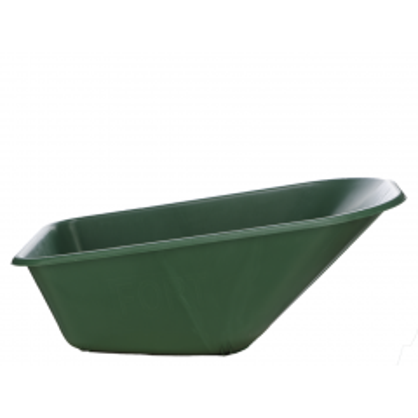 Kruiwagenbak reserve 100 L groen