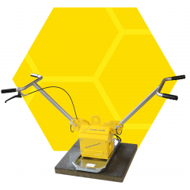 Vacuümunit VTH-150-BL zonder zuigplaat incl. verlengkabel