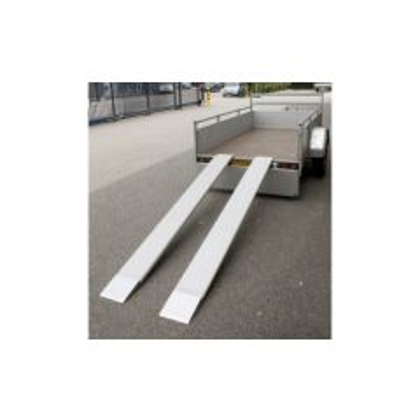 Oprijplank 250 kg alu 22x200 cm per set