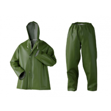Regenpak D404 P1 groen