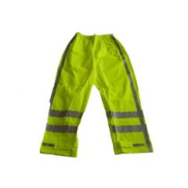 Regenbroek PU RWS Oakland geel