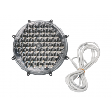 Knipperlamp Flasher 200 multi-LED plat zwart master