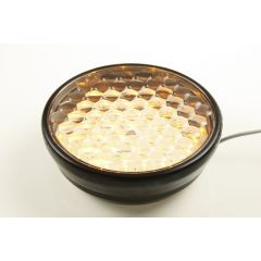 Knipperlamp Flasher 200 multi-LED Hoog zwart slave