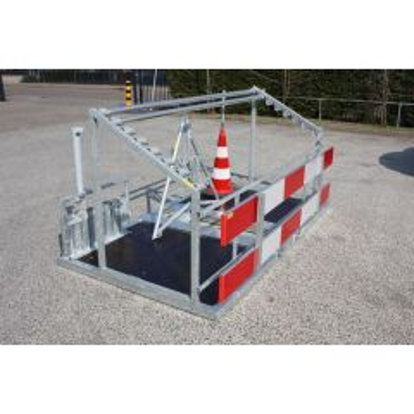 Opbergframe bebakeningsset voor aanhangwagen 150x270 cm